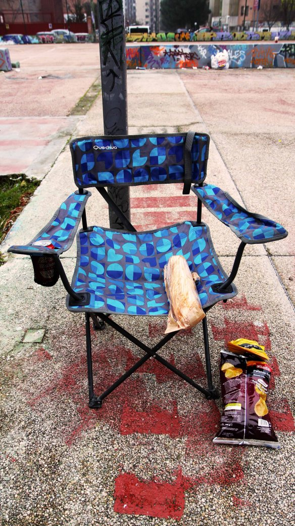 The Snack Chair