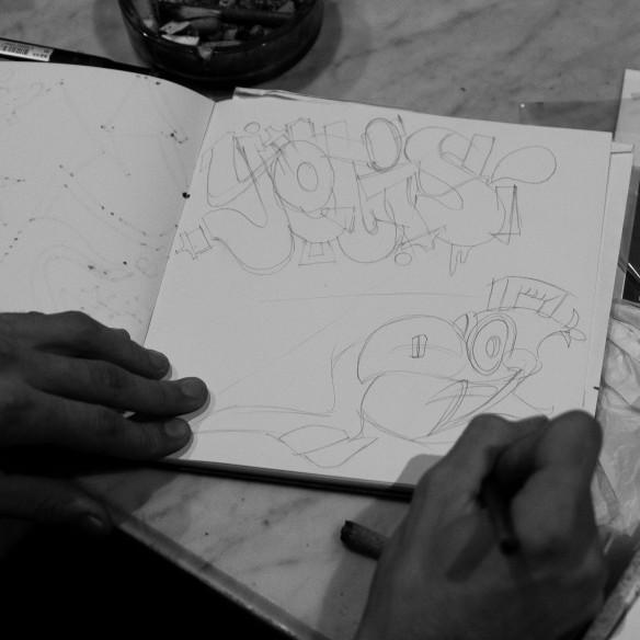 El Chico Iwana & Naen: Vandal Voyeur black book
